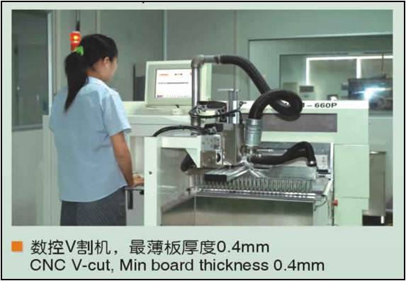 CNC V-CUT Machine